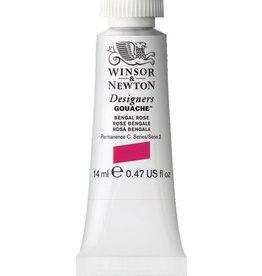 WINSOR NEWTON WINSOR & NEWTON DESIGNERS GOUACHE BENGAL ROSE 14ML