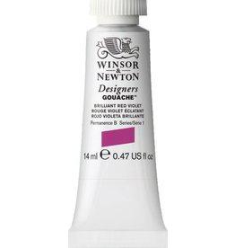 WINSOR NEWTON WINSOR & NEWTON DESIGNERS GOUACHE BRILLIANT RED VIOLET 14ML