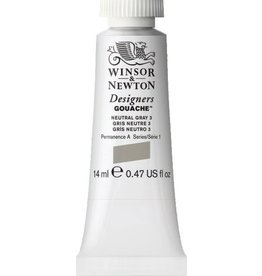 WINSOR NEWTON WINSOR & NEWTON DESIGNERS GOUACHE NEUTRAL GREY 3 14ML