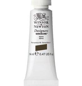 WINSOR NEWTON WINSOR & NEWTON DESIGNERS GOUACHE SEPIA 14ML