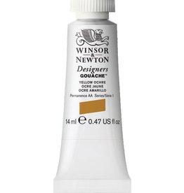 WINSOR NEWTON WINSOR & NEWTON DESIGNERS GOUACHE YELLOW OCHRE 14ML