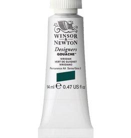 WINSOR NEWTON WINSOR & NEWTON DESIGNERS GOUACHE VIRIDIAN 14ML