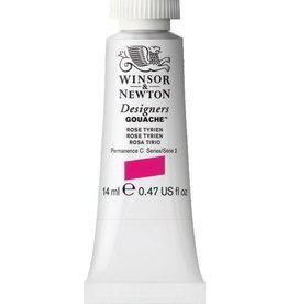 WINSOR NEWTON WINSOR & NEWTON DESIGNERS GOUACHE ROSE TYRIEN 14ML