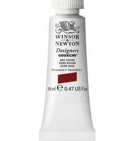 WINSOR NEWTON WINSOR & NEWTON DESIGNERS GOUACHE RED OCHRE 14ML