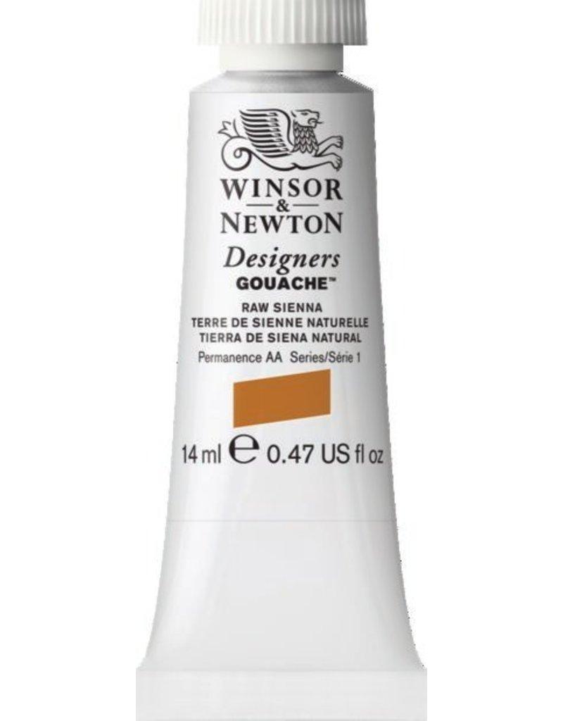 WINSOR NEWTON WINSOR & NEWTON DESIGNERS GOUACHE RAW SIENNA 14ML