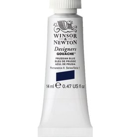 WINSOR NEWTON WINSOR & NEWTON DESIGNERS GOUACHE PRUSSIAN BLUE 14ML