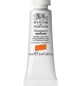 WINSOR NEWTON WINSOR & NEWTON DESIGNERS GOUACHE ORANGE LAKE LIGHT 14ML