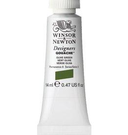 WINSOR NEWTON WINSOR & NEWTON DESIGNERS GOUACHE OLIVE GREEN 14ML