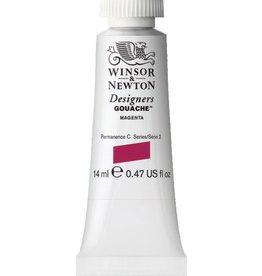WINSOR NEWTON WINSOR & NEWTON DESIGNERS GOUACHE MAGENTA 14ML