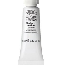 WINSOR NEWTON WINSOR & NEWTON DESIGNERS GOUACHE ZINC WHITE 14ML
