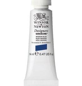 WINSOR NEWTON WINSOR & NEWTON DESIGNERS GOUACHE WINSOR BLUE 14ML