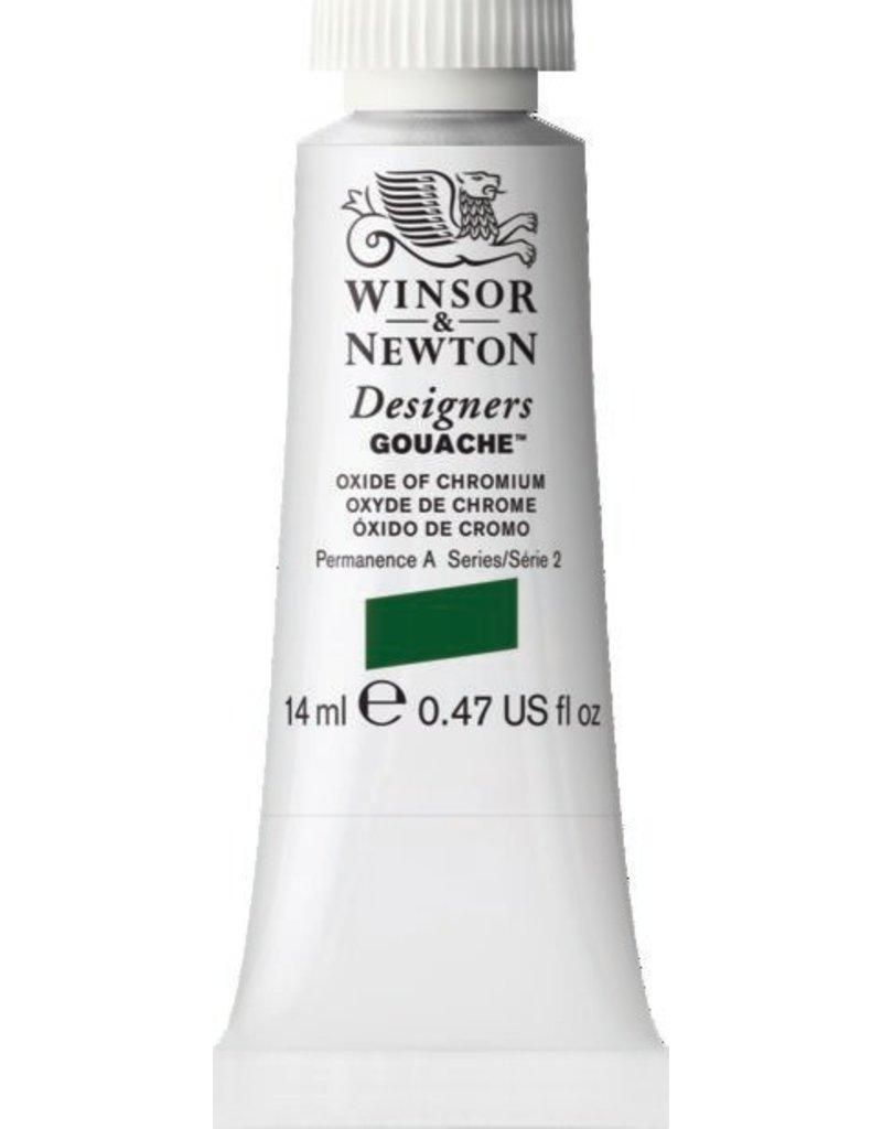 WINSOR NEWTON WINSOR & NEWTON DESIGNERS GOUACHE OXIDE OF CHROMIUM 14ML