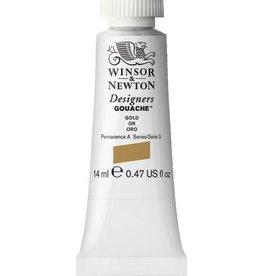 WINSOR NEWTON WINSOR & NEWTON DESIGNERS GOUACHE GOLD (METAL BASED) 14ML