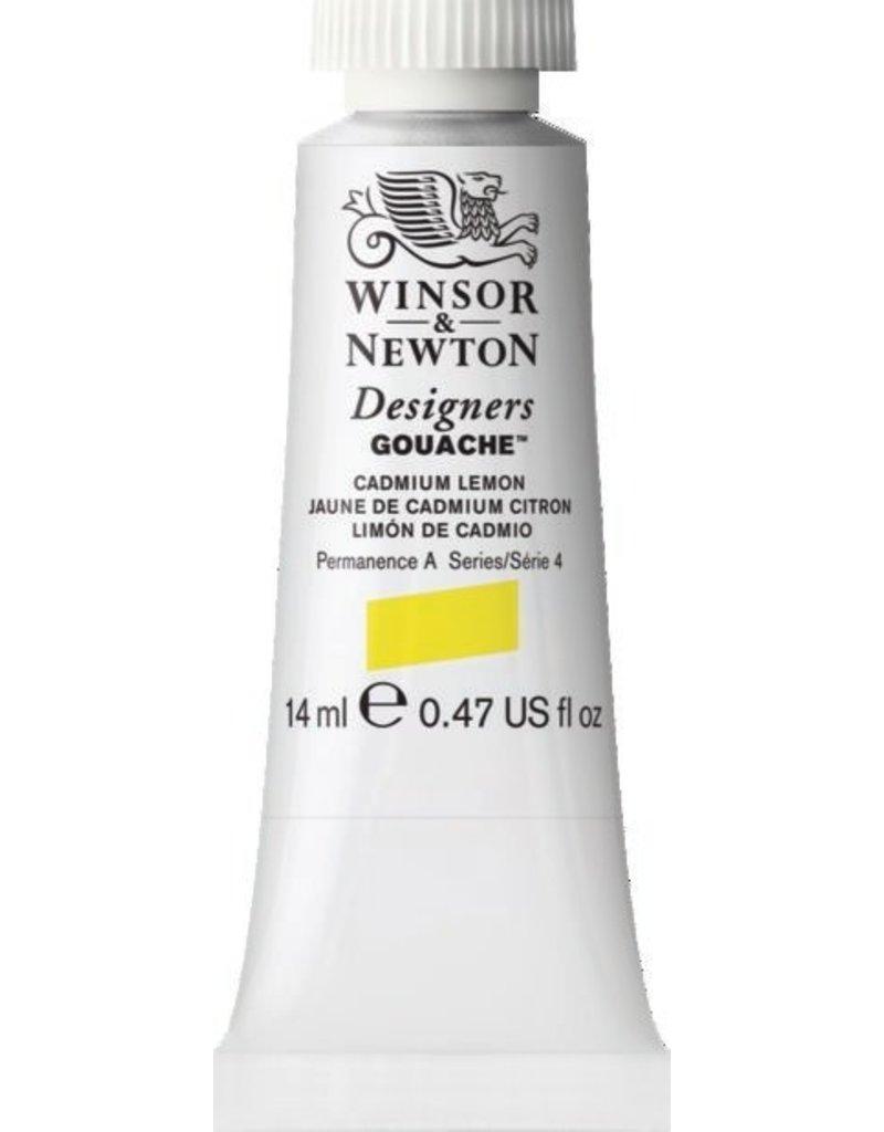 WINSOR NEWTON WINSOR & NEWTON DESIGNERS GOUACHE CADMIUM LEMON 14ML