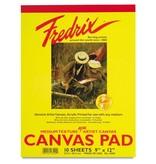 TARA (FREDRIX) FREDRIX CANVAS PAD 9X12  10SHT