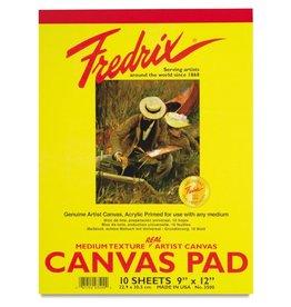 TARA (FREDRIX) FREDRIX CANVAS PAD 12X16  10SHT