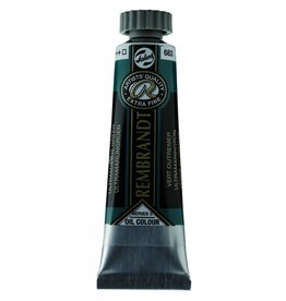 ROYAL TALENS REMBRANDT OIL ULTRAMARINE GREEN 40mL