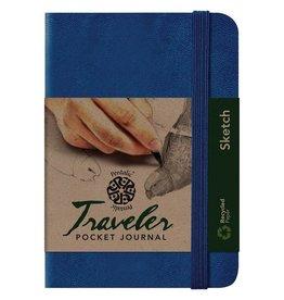 PENTALIC PENTALIC TRAVELER POCKET JOURNAL SKETCH 6X4 ROYAL BLUE