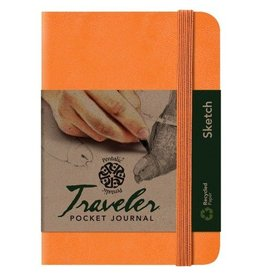 PENTALIC PENTALIC TRAVELER POCKET JOURNAL SKETCH 6X4 ORANGE