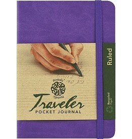 PENTALIC PENTALIC TRAVELER POCKET JOURNAL RULED 6X4 VIOLET