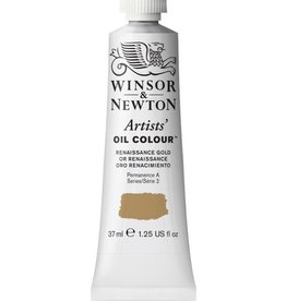 WINSOR NEWTON WINSOR & NEWTON ARTISTS' OIL COLOUR RENAISSANCE GOLD 37ML