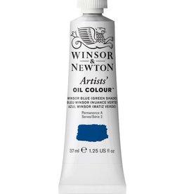 WINSOR NEWTON WINSOR & NEWTON ARTISTS' OIL COLOUR WINSOR BLUE (GREEN SHADE) 37ML