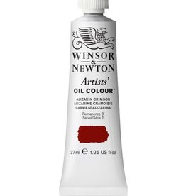 WINSOR NEWTON WINSOR & NEWTON ARTISTS' OIL COLOUR ALIZARIN CRIMSON 37ML