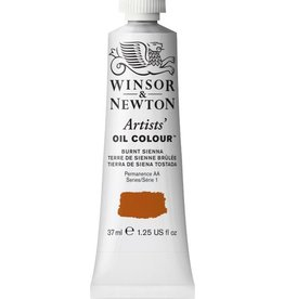 WINSOR NEWTON WINSOR & NEWTON ARTISTS' OIL COLOUR BURNT SIENNA 37ML