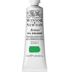 WINSOR NEWTON WINSOR & NEWTON ARTISTS' OIL COLOUR PERMANENT GREEN LIGHT 37ML