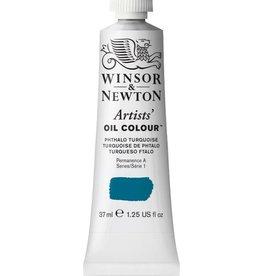 WINSOR NEWTON WINSOR & NEWTON ARTISTS' OIL COLOUR PHTHALO TURQUOISE 37ML