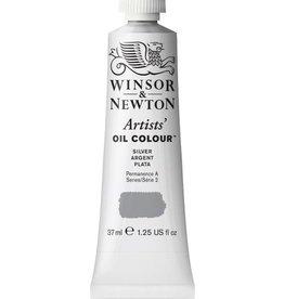 WINSOR NEWTON WINSOR & NEWTON ARTISTS' OIL COLOUR SILVER 37ML