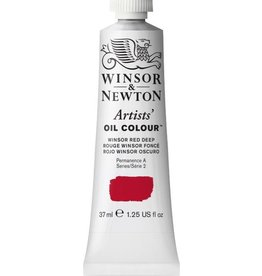 WINSOR NEWTON WINSOR & NEWTON ARTISTS' OIL COLOUR WINSOR RED DEEP 37ML