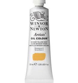 WINSOR NEWTON WINSOR & NEWTON ARTISTS' OIL COLOUR WINSOR YELLOW DEEP 37ML