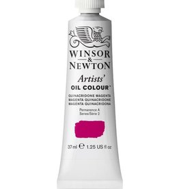 WINSOR NEWTON WINSOR & NEWTON ARTISTS' OIL COLOUR QUINACRIDONE MAGENTA 37ML