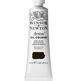 WINSOR NEWTON WINSOR & NEWTON ARTISTS' OIL COLOUR IVORY BLACK 37ML