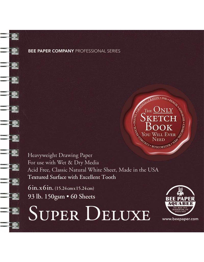BEE PAPER BEE PAPER SUPER DELUXE SKETCH BOOK 6X6
