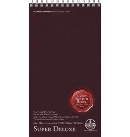BEE PAPER BEE PAPER SUPER DELUXE SKETCH BOOK 6X12  60/SHT    808S60-612