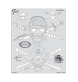 ARTOOLPRODUCTS ARTOOL FREEHAND AIRBRUSH TEMPLATE PRY1 TELL NO TALES