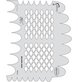 ARTOOLPRODUCTS ARTOOL FREEHAND AIRBRUSH TEMPLATE FXII12 DRAGON SKIN