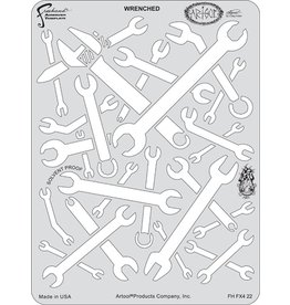 ARTOOLPRODUCTS ARTOOL FREEHAND AIRBRUSH TEMPLATE FX422 WRENCHED
