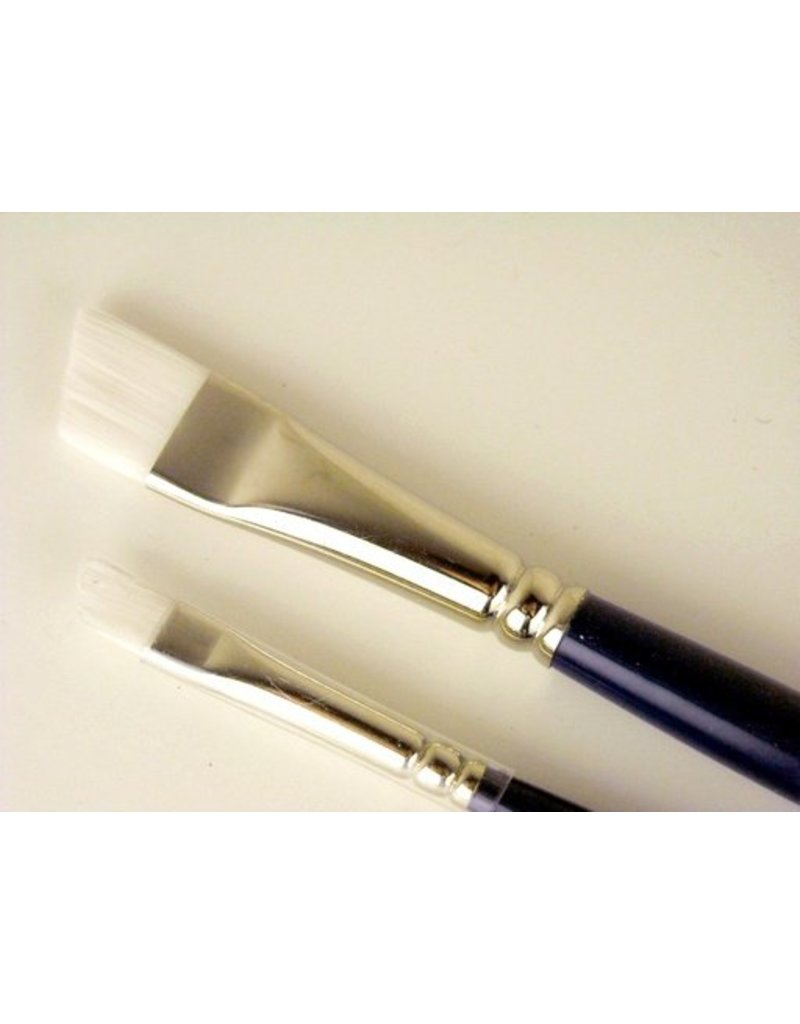 COLOURS BRUSH SERIES 719 WHITE TAKLON LH BRIGHT 16  1.5""