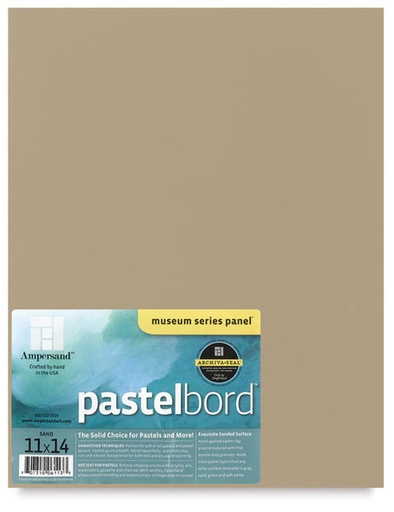 AMPERSAND PASTELBORD SAND 16X20