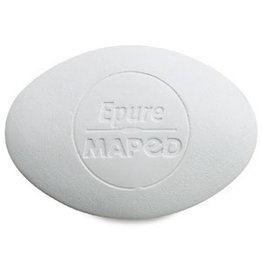 MAPED MAPED EPURE WHITE OVAL ERASER