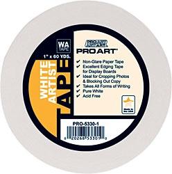 PRO ART PRO ART ARTIST TAPE ACID FREE WHITE 3/4''X60YD