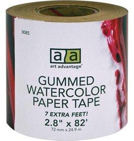 "ART ADVANTAGE ART ADVANTAGE GUMMED PAPER TAPE 2"" X 75 FEET"