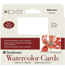 STRATHMORE STRATHMORE WATERCOLOUR CARDS 3X4   105-23