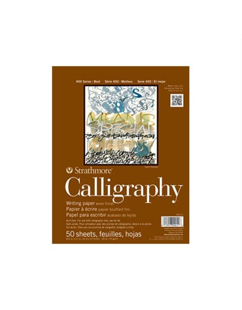STRATHMORE STRATHMORE CALLIGRAPHY PAPER 8.5X11 50SH