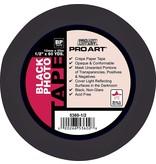 "PRO ART PRO ART PHOTO TAPE ACID FREE BLACK 3/4"" X 60 YDS"