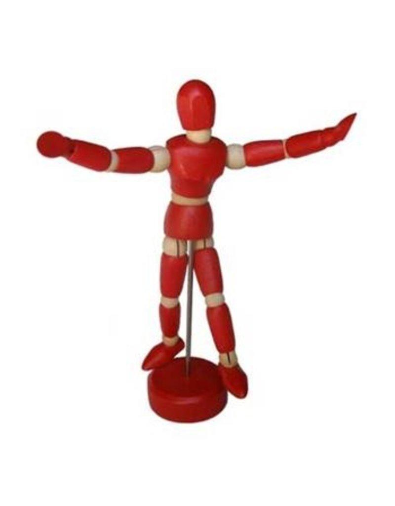ART ADVANTAGE MALE MANNEQUIN RED 4.5''