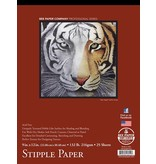 BEE PAPER BEE PAPER PROFESSIONAL SERIES STIPPLE PAPER PAD 9X12    1013T25-912
